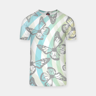 Thumbnail image of Butterflies and swirls  T-shirt, Live Heroes