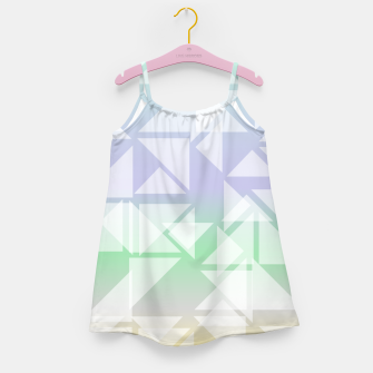 Imagen en miniatura de Colorful triangles composition Girl's dress, Live Heroes