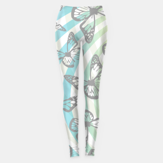 Butterflies and swirls  Leggings thumbnail image