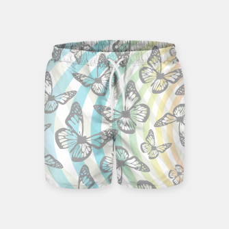 Thumbnail image of Butterflies and swirls  Swim Shorts, Live Heroes