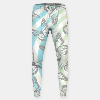 Thumbnail image of Butterflies and swirls  Sweatpants, Live Heroes