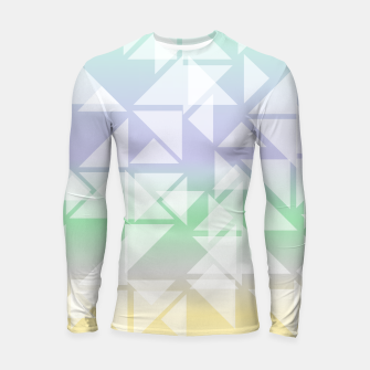 Imagen en miniatura de Colorful triangles composition Longsleeve rashguard , Live Heroes