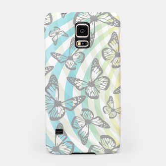 Butterflies and swirls  Samsung Case thumbnail image