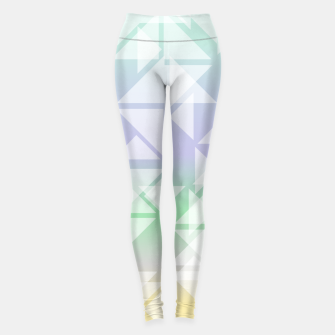 Imagen en miniatura de Colorful triangles composition Leggings, Live Heroes