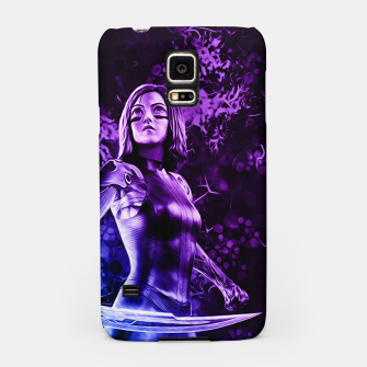 "Thumbnail image of Fight Angel Purple "" Carcasa por Samsung, Live Heroes"