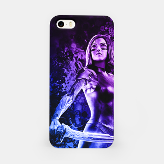"Thumbnail image of Fight Angel Purple "" Carcasa por Iphone, Live Heroes"