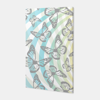 Butterflies and swirls  Canvas thumbnail image