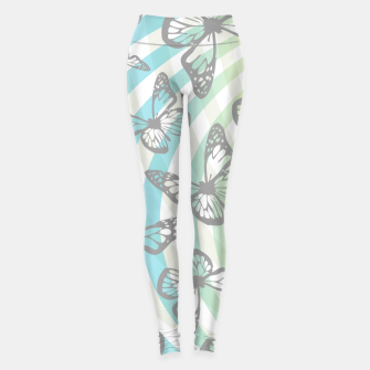 Thumbnail image of Butterflies and swirls  Leggings, Live Heroes