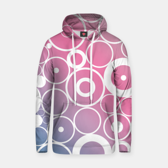 Thumbnail image of Minimalistic pink blue gradient circle composition Hoodie, Live Heroes