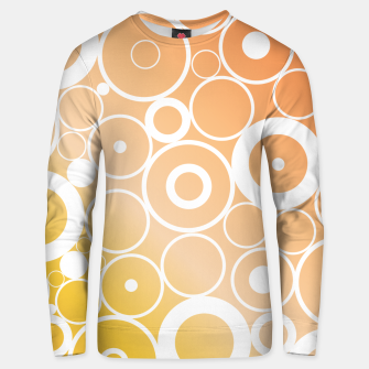Thumbnail image of Minimalistic orange yellow gradient circle composition Unisex sweater, Live Heroes