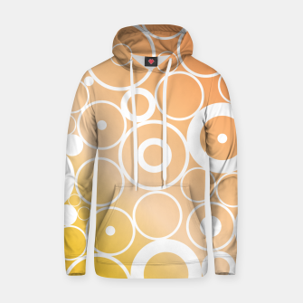 Thumbnail image of Minimalistic orange yellow gradient circle composition Hoodie, Live Heroes