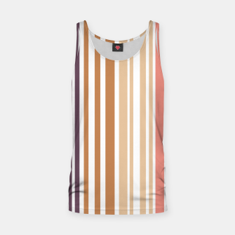 Thumbnail image of Earth colored pinstripes in soft murky colors Tank Top, Live Heroes