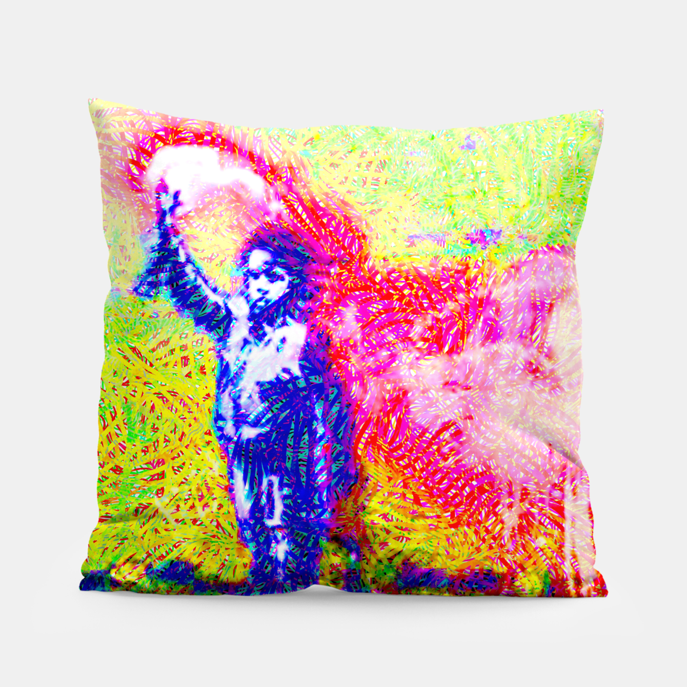 Image of bksy Pillow - Live Heroes