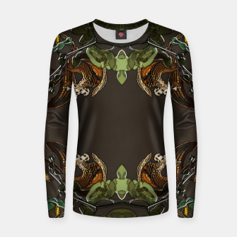 Thumbnail image of Orchid garden Women sweater, Live Heroes