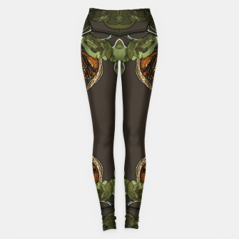 Thumbnail image of Orchid garden Leggings, Live Heroes