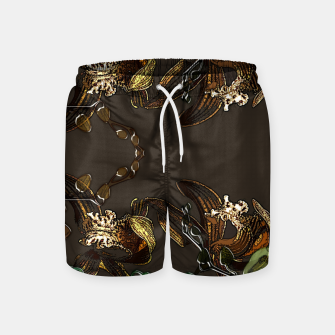 Thumbnail image of Orchid garden Swim Shorts, Live Heroes