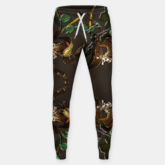 Thumbnail image of Orchid garden Sweatpants, Live Heroes