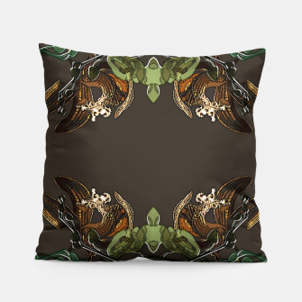 Thumbnail image of Orchid garden Pillow, Live Heroes