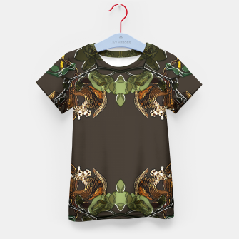 Thumbnail image of Orchid garden Kid's t-shirt, Live Heroes