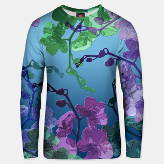 Thumbnail image of Orchid garden 2 Unisex sweater, Live Heroes