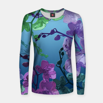 Thumbnail image of Orchid garden 2 Women sweater, Live Heroes