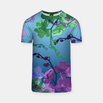 Thumbnail image of Orchid garden 2 T-shirt, Live Heroes