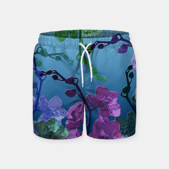 Thumbnail image of Orchid garden 2 Swim Shorts, Live Heroes