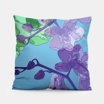 Thumbnail image of Orchid garden 2 Pillow, Live Heroes