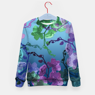 Thumbnail image of Orchid garden 2 Kid's sweater, Live Heroes