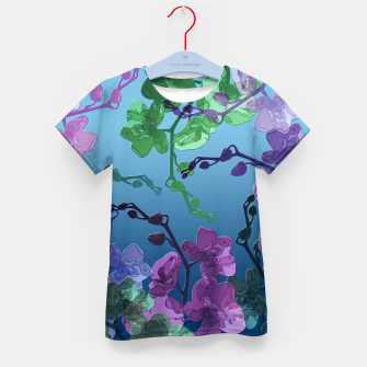 Thumbnail image of Orchid garden 2 Kid's t-shirt, Live Heroes