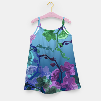 Thumbnail image of Orchid garden 2 Girl's dress, Live Heroes