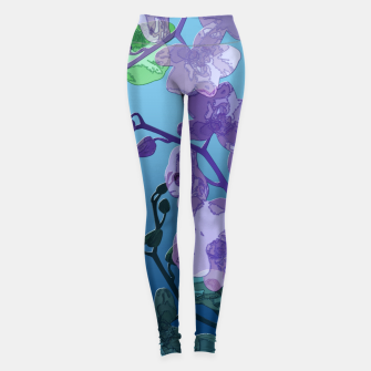 Thumbnail image of Orchid garden 2 Leggings, Live Heroes