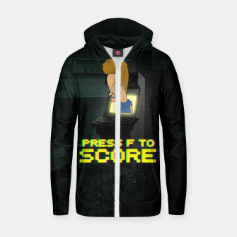 Miniaturka F to score Zip up hoodie, Live Heroes