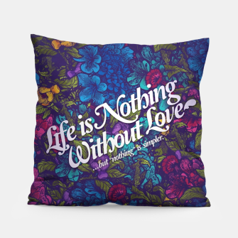 Miniatur Love Pillow, Live Heroes