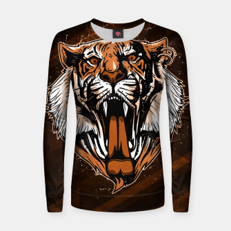 Thumbnail image of Tiger Power Sudadera para mujeres, Live Heroes