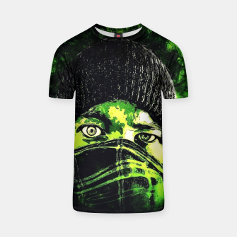 Thumbnail image of Green Madness Camiseta, Live Heroes