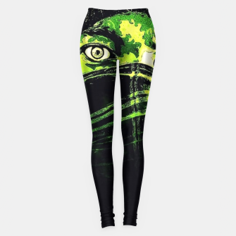 Thumbnail image of Green Madness Leggings, Live Heroes