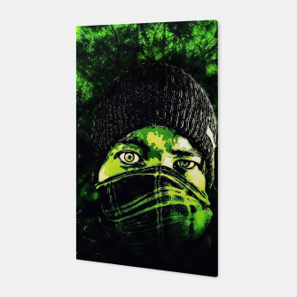 Thumbnail image of Green Madness Canvas, Live Heroes