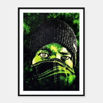 Thumbnail image of Green Madness Cartel con marco, Live Heroes