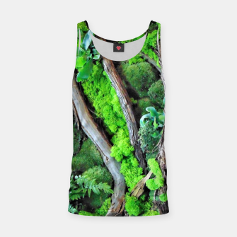 Thumbnail image of picture of moss Tank Top, Live Heroes