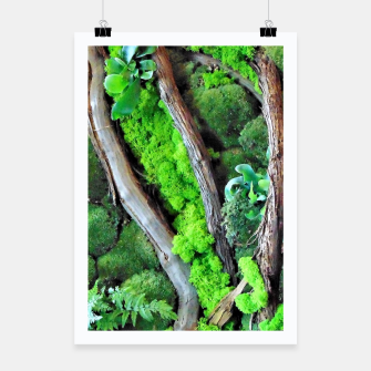 Thumbnail image of picture of moss Plakat, Live Heroes