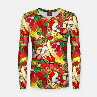 Miniature de image de Fruits Women sweater, Live Heroes