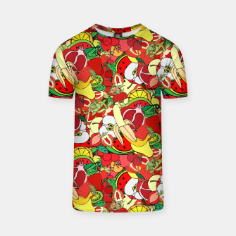 Miniature de image de Fruits T-shirt, Live Heroes