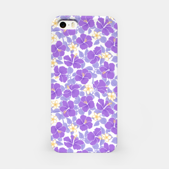 Thumbnail image of Hibiscus and Plumeria - Lilac Carcasa por Iphone, Live Heroes