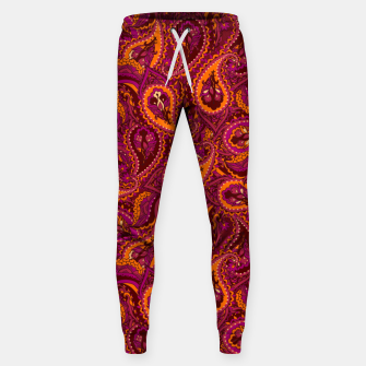 Miniature de image de Indian Paisley Sweatpants, Live Heroes