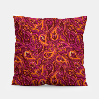 Thumbnail image of Indian Paisley Pillow, Live Heroes
