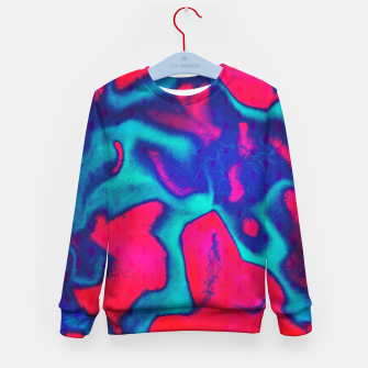 Thumbnail image of Blue red Kid's sweater, Live Heroes