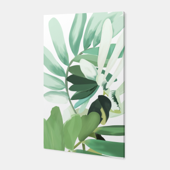 Thumbnail image of Green leaf Canvas, Live Heroes