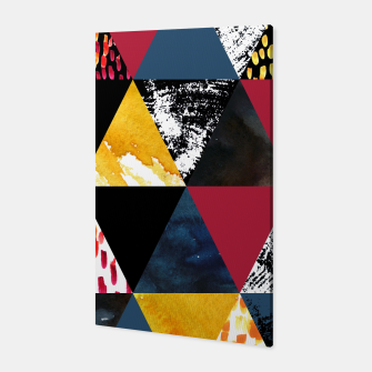 Thumbnail image of Triangles Canvas, Live Heroes