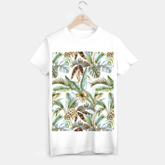 Miniature de image de Wild botany jungle Camiseta Regular, Live Heroes